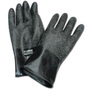 Honeywell Size 10 Black North® Butyl 16 mil Unsupported Butyl Chemical Resistant Gloves