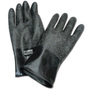 Honeywell Size 11 Black North® Butyl 16 mil Unsupported Butyl Chemical Resistant Gloves