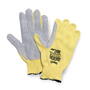Honeywell One Size Fits Most Junk Yard Dog® 7 Gauge DuPont™ Kevlar® Brand Fiber Cut Resistant Gloves With Leather Coated Palm