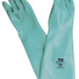 Honeywell Size 7 Green Nitri-Guard Plus™ 25 mil Unsupported Nitrile Chemical Resistant Gloves