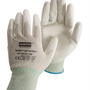 Honeywell Size 8 NorthFlex Light Task ESD™ 15 Gauge Gray Polyurethane Palm And Fingertip Coated Work Gloves With Thunderon® Liner And Knit Wrist
