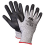 Honeywell Medium NorthFlex Light Task Plus II Black™ 13 Gauge Dyneema® Cut Resistant Gloves With Nitrile And Polyurethane Coated Palm And Fingers
