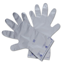 Honeywell Size 6 Silver North® Silver Shield® 2.7 mil Ethylene And Polyethylene And Vinyl Chemical Resistant Gloves