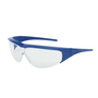 Honeywell Uvex Millennia™ Blue Safety Glasses With Clear Anti-Scratch Lens