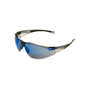 Honeywell Uvex® A800 Amber Safety Glasses With Blue Mirror/Anti-Scratch/Hard Coat Lens (Lead time for this product may be longer than normal.)