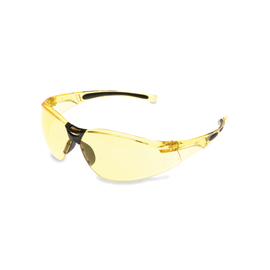 Honeywell Uvex® A800 Amber Safety Glasses With Amber Anti-Scratch/Hard Coat Lens (Lead time for this product may be longer than normal.)