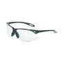 Honeywell Uvex® A900 Black Safety Glasses With Clear Anti-Scratch/Hard Coat Lens