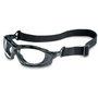 Honeywell Uvex Seismic® Black Safety Glasses With Clear Anti-Fog/Anti-Scratch Lens