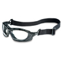 Honeywell Uvex Seismic® Black Safety Glasses With Clear Anti-Fog Lens