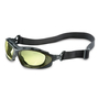 Honeywell Uvex Seismic® Black Safety Glasses With Amber Uvextra Anti-Fog Lens And Flame-Resistant Headband