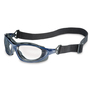 Honeywell Uvex Seismic® Metallic Blue Safety Glasses With Clear Anti-Fog Lens