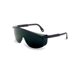 Honeywell Uvex Astrospec 3000® Black Safety Glasses With Shade 5.0 Anti-Scratch/Hard Coat/Infra-Dura Lens