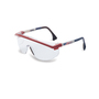 Honeywell Uvex Astrospec 3000® Red, Blue And White Safety Glasses With Clear Anti-Scratch/Hard Coat Lens (Lead time for this product may be longer than normal.)