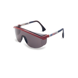 Honeywell Uvex Astrospec 3000® Red, White And Blue Safety Glasses With Gray Anti-Scratch/Hard Coat Lens