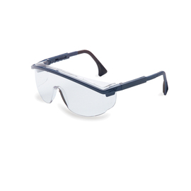 Honeywell Uvex Astrospec 3000® Blue Safety Glasses With Clear Anti-Fog Lens