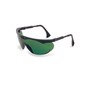 Honeywell Uvex Skyper® Black Safety Glasses With Shade 3.0 Anti-Scratch/Hard Coat/Infra-dura Lens