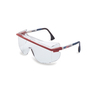Honeywell Uvex Astrospec OTG® 3001 Red, Blue And White Safety Glasses With Clear Anti-Scratch/Hard Coat Lens (Lead time for this product may be longer than normal.)