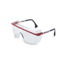 Honeywell Uvex Astrospec OTG® 3001 Red, Blue And White Safety Glasses With Clear Anti-Fog Lens (Lead time for this product may be longer than normal.)