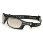 Honeywell Uvex Livewire™ Matte Black Safety Glasses With SCT-Reflect 50 Anti-Fog Lens