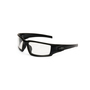 Honeywell Uvex Hypershock™ Matte Black Safety Glasses With Clear Anti-Fog Lens