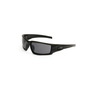 Honeywell Uvex Hypershock™ Matte Black Safety Glasses With Gray Anti-Fog Lens