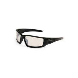 Honeywell Uvex Hypershock® Black Safety Glasses With SCT Reflect 50 Anti-Scratch/Hard Coat Lens