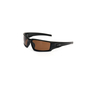 Honeywell Uvex Hypershock™ Matte Black Safety Glasses With Espresso Polarized Anti-Scratch/Hard Coat Lens