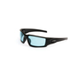 Honeywell Uvex Hypershock™ Matte Black Safety Glasses With SCT-Blue Uvextreme Plus® Anti-Fog Lens