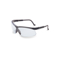 Honeywell Uvex Genesis® Black Safety Glasses With Clear Anti-Fog Lens