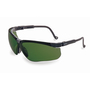 Honeywell Uvex Genesis® Black Safety Glasses With Shade 3.0 Anti-Scratch/Hard Coat/Infra-dura Lens