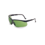 Honeywell Uvex Genesis® Black Safety Glasses With Shade 2.0 Infra-dura® Anti-Scratch/Hard Coat Lens (Lead time for this product may be longer than normal.)