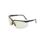 Honeywell Uvex Genesis® Black Safety Glasses With SCT-Low IR Anti-Scratch/Hard Coat Lens