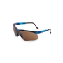 Honeywell Uvex Genesis® Vapor Blue Safety Glasses With Espresso Polycarbonate  Ultra-dura® Anti-Scratch/Hard Coat Lens