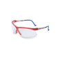 Honeywell Uvex Genesis® Red, White And Blue Safety Glasses With Clear Anti-Scratch/Hard Coat Lens
