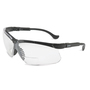Honeywell Uvex Genesis® 1 Diopter Black Safety Glasses With Clear Anti-Scratch/Hard Coat Lens