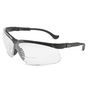 Honeywell Uvex Genesis® 2 Diopter Black Safety Glasses With Clear Anti-Scratch/Hard Coat Lens (Lead time for this product may be longer than normal.)