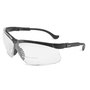 Honeywell Uvex Genesis® 3 Diopter Black Safety Glasses With Clear Anti-Scratch/Hard Coat Lens