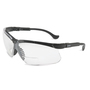 Honeywell Uvex Genesis® 2.5 Diopter Black Safety Glasses With Clear Anti-Scratch/Hard Coat Lens