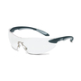 Honeywell Uvex Ignite™ Black And Silver Safety Glasses With Clear Anti-Scratch/Hard Coat Lens