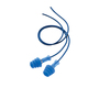 Honeywell Howard Leight/Fusion® Tapered TPE (Thermoplastic Elastomer)/Steel Detectable Corded Earplugs