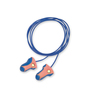 Honeywell Howard Leight/Laser-Trak® Contoured T-Shape Polyurethane Foam/Brass Corded Earplugs