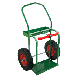 Anthony Welded Products High Rail Design Dual Cylinder Cart With 16