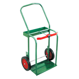 Anthony Welded Products High Rail Design Medium Duty Dual Cylinder Cart With 10