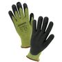 RADNOR® Medium 13 Gauge DuPont™ Kevlar®, Nitrile And Stainless Steel Cut Resistant Gloves With Foam Nitrile Coating