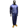 Radnor® Large Blue Polypropylene Disposable Coveralls