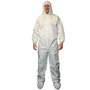 RADNOR® 2X White Polypropylene Disposable Coveralls (Lead time for this product may be longer than normal.)