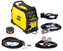 ESAB® Rebel™ EM 215ic MIG Welder, 120 - 230 Volt 130 Amps At 120 Volts At 20% Duty Cycle/205 Amps At 230 Volts At 25% Duty Cycle 240 Single Phase 40 lb