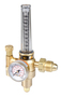 Victor® Medium Duty Argon, Carbon Dioxide Mix And Helium Flowmeter Regulator CGA 580