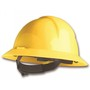 Honeywell Yellow North® Everest HDPE Full Brim Hard Hat With Ratchet/4 Point Ratchet Suspension