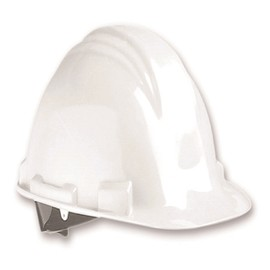 Honeywell White North Peak A79 HDPE Cap Style Hard Hat With Rachet/4 Point Ratchet Suspension on white background